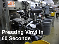 Pressing vinyl records image
