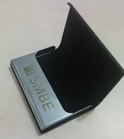 barang promosi murah souvenir murah name card holder tempat kartu nama