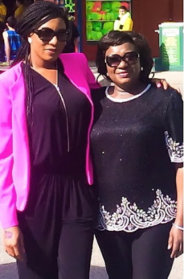 chika ike mother dead