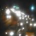 Viaduto da Urbana com trânsito lento sentido ZN, chove neste momento motorista deve ter atenção