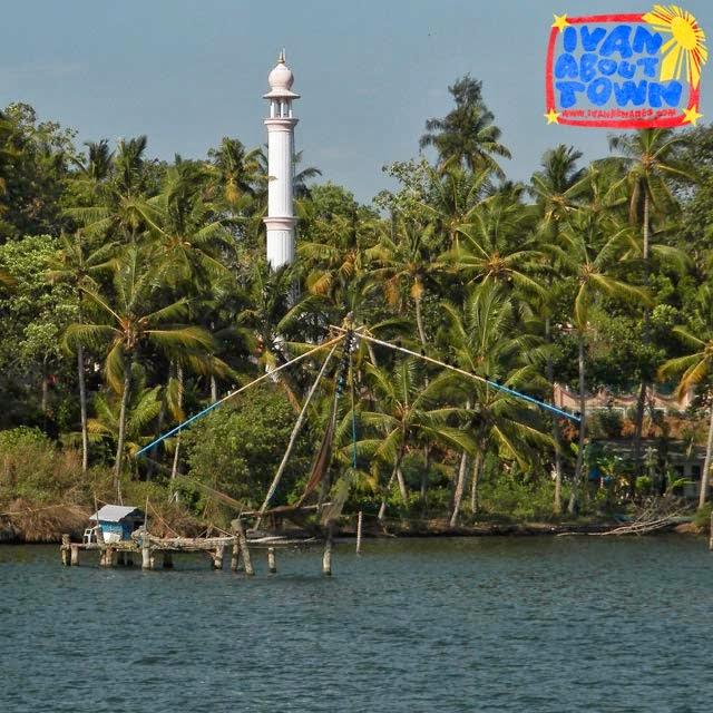Ashtamudi Lake: Ivan About Town