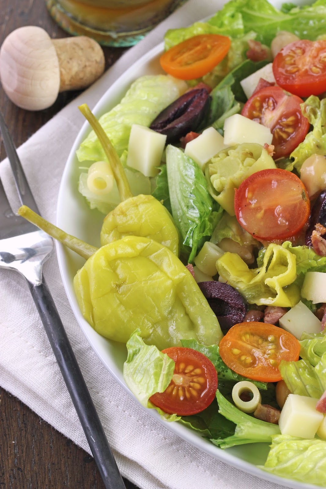 how to make a chopped salad with food processor
