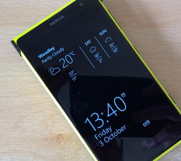 Fitur Glance Screen pada Lumia