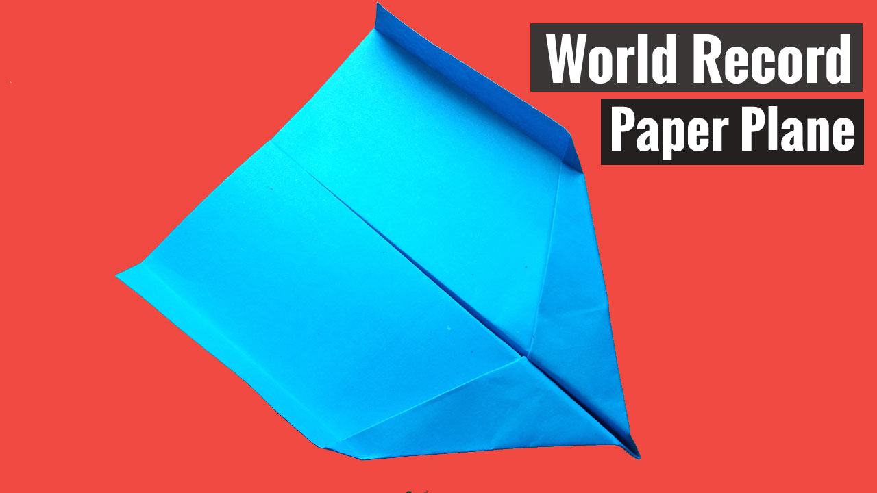 How to make airplanes from paper