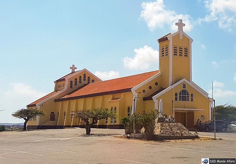 Igreja de Santa Filomena em Aruba - Diário de Bordo: cruzeiro pelo Caribe