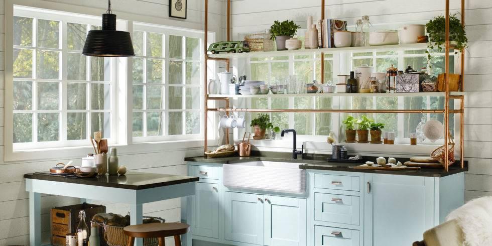 Cocinas peque as modernas y funcionales revista tendenciadeco - Cocinas modernas y pequenas ...