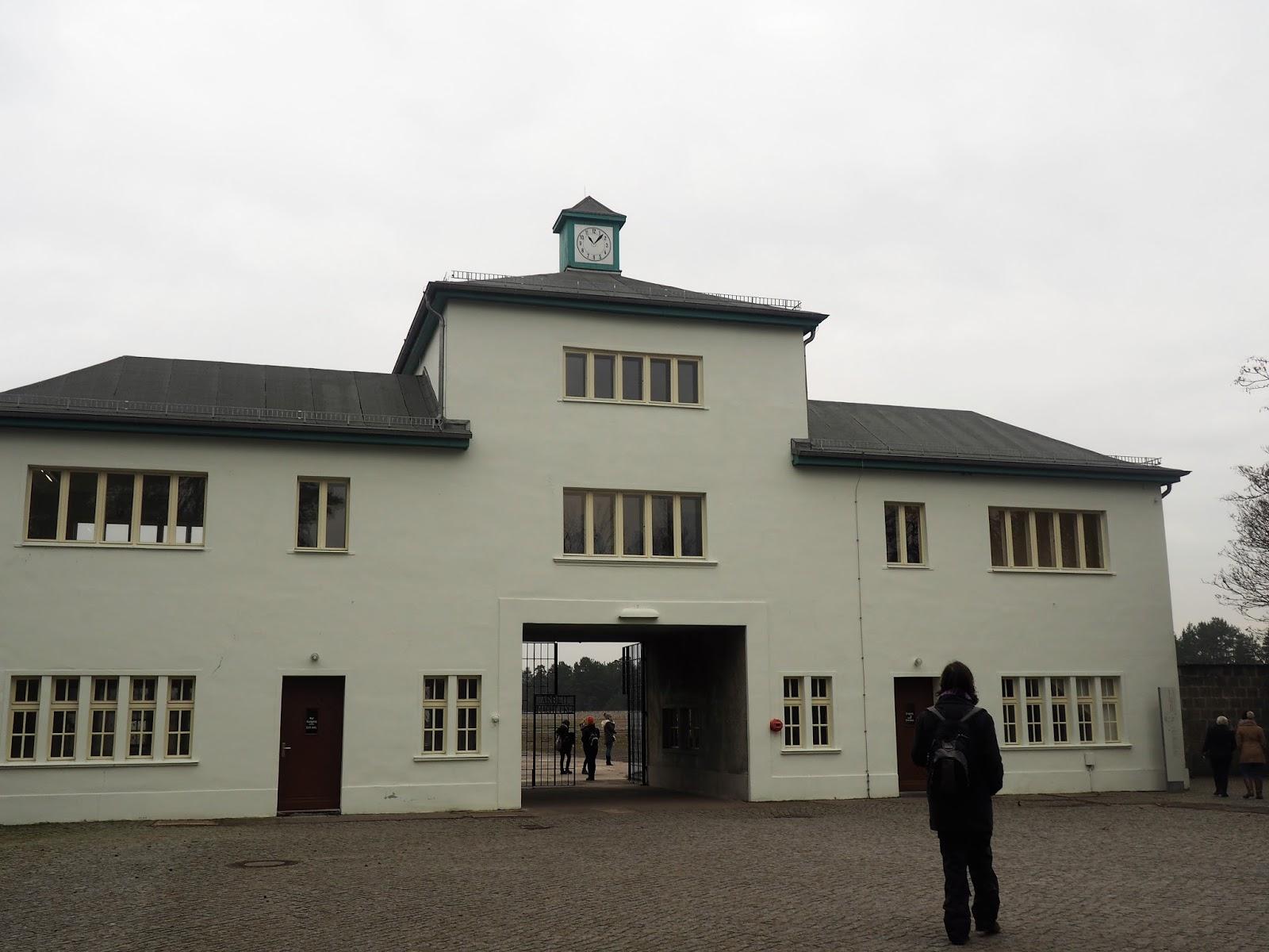 Sachsenhausen Concentration Camp entrance