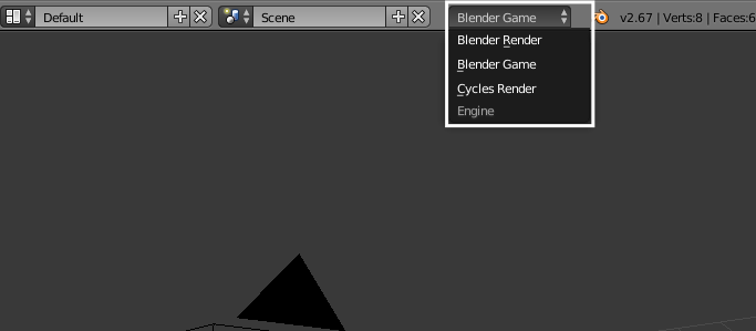 Blender Game Mode