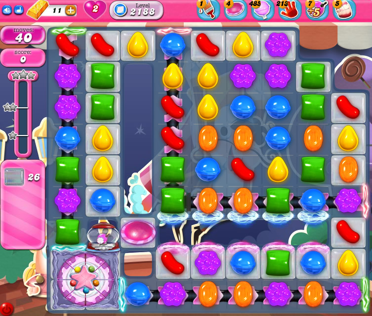 Candy Crush Saga level 2188