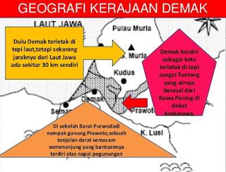 Letak Kerajaan Demak Secara Geografis