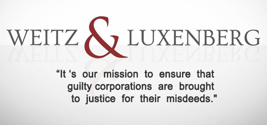 Weitz & Luxenberg best mesothelioma law firm