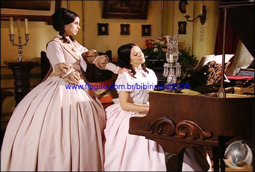 Malvina e Isaura looks