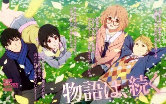 Kyoukai no Kanata - Daftar Anime Mirip Hyouka