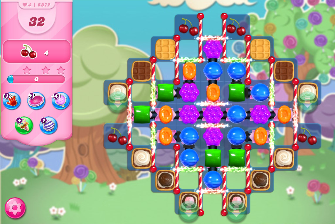 Candy Crush Saga level 5372