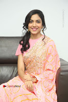 Actress Ritu Varma Pos in Beautiful Pink Anarkali Dress at at Keshava Movie Interview .COM 0278.JPG