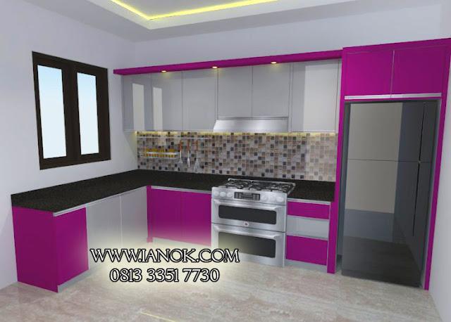 desain kitchen set murah surabaya sidoarjo