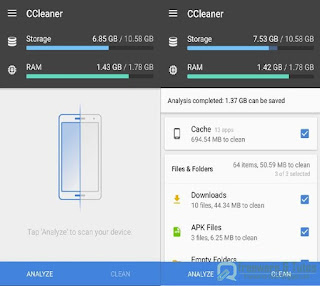 CCleaner pour Android