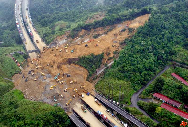 relationship between rainfall and landslide