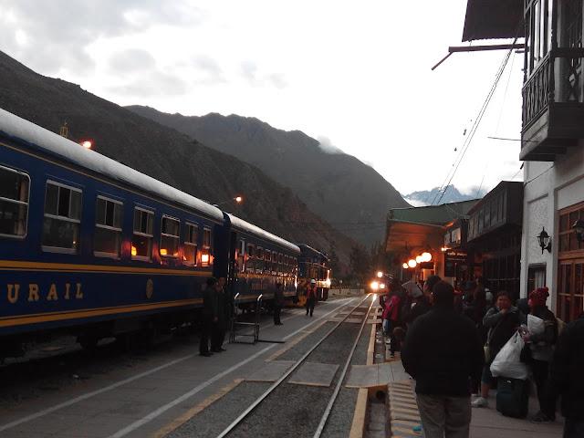 Estación de tren de Ollantaytambo Perú