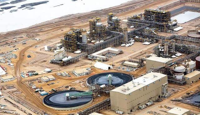 Eles acabaram de vender um lote de suas areias petrolíferas ativas por 7,2 bilhões de dólares