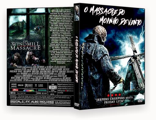 O Massacre Do Moinho De Vento DVD-R AUTORADO