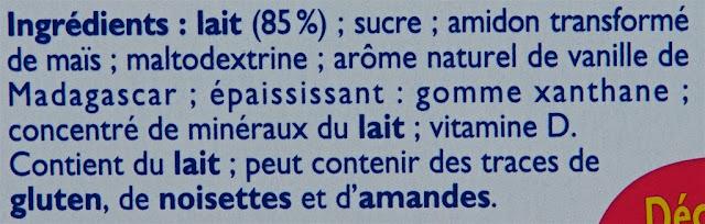 Récré O'lé Vanille Mont Blanc