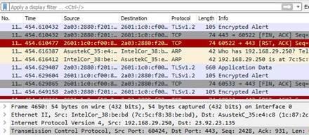 WireShark Utilitaire de Capture, filtrage et inspection des Paquets