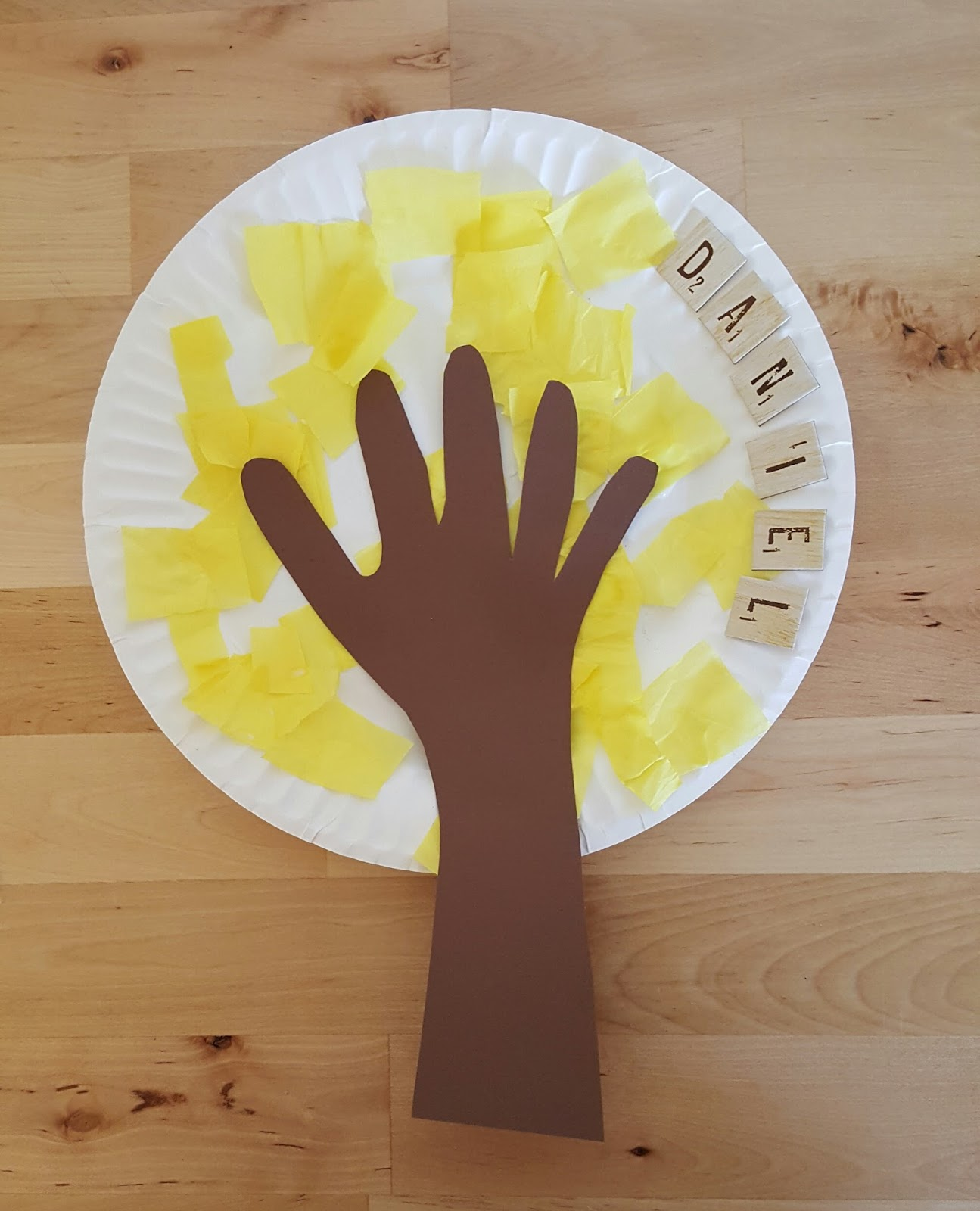 Then trace the child\u0027s hand to brown cardstock cut and glue on to the paper plate. As simple as that ) Fall Wreath & ReloMom: Fall Crafts For Kids