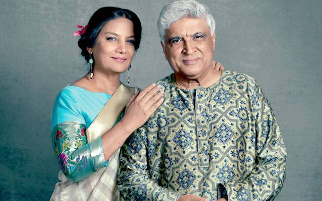 Happy Wedding Anniversary Shabana-Javed Akhtar