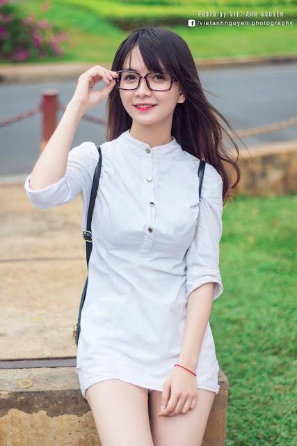Hot girl facebook xinh đẹp Đinh Hoàng My
