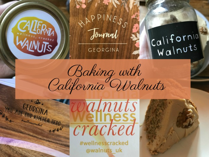 Baking with california walnuts banner