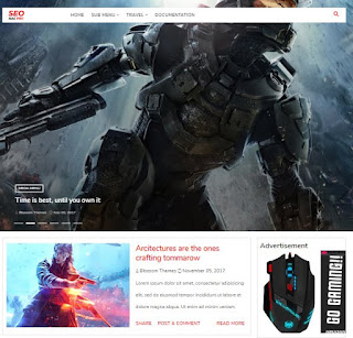 Download Top 5 Gaming Premium Blogger Templates For FREE by AdeelDrew - GameArise