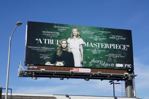 Sharp Objects HBO FYC billboard