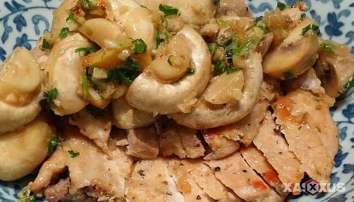 Resep stik daging dan jamur kancing butter