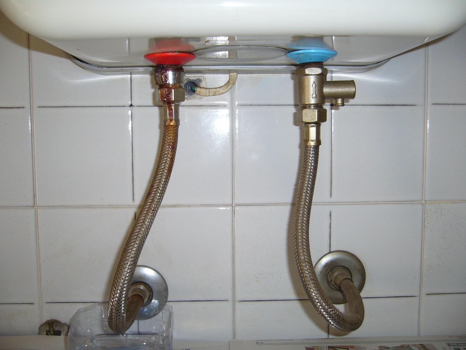Fai da te sostituire un flessibile dello scaldabagno - Scaldabagno elettrico istantaneo per doccia ...