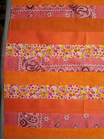 ProsperityStuff Quilt Weather Quilt leftovers - orange
