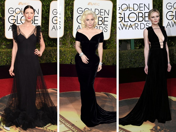 Golden Globes Reddish Carpeting: Couture Minus the Cliché. Every one of the mention women's