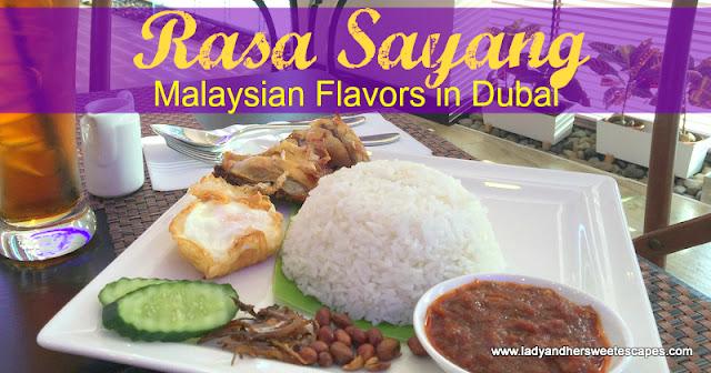 Rasa Sayang restaurant Dubai