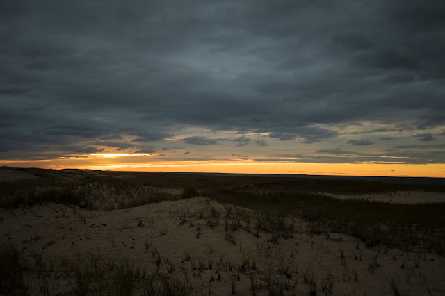 Tramonto al Race point Lighthouse-Cape Cod