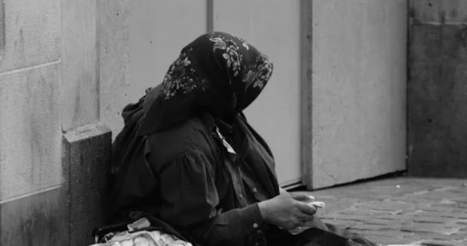 79-year-old beggar was rated as wealthy grandma who enjoys begging