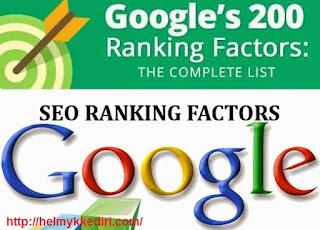 200 faktor yang mempengaruhi peringkat website digoogle