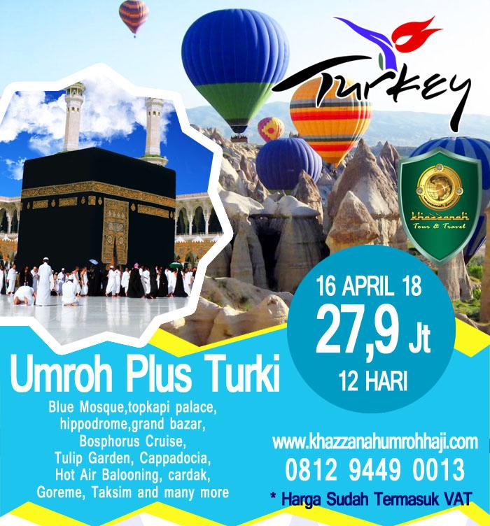 Paket Umroh Plus Turki 2018 Promo