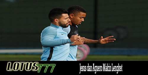 Jesus dan Aguero Makin Lengket