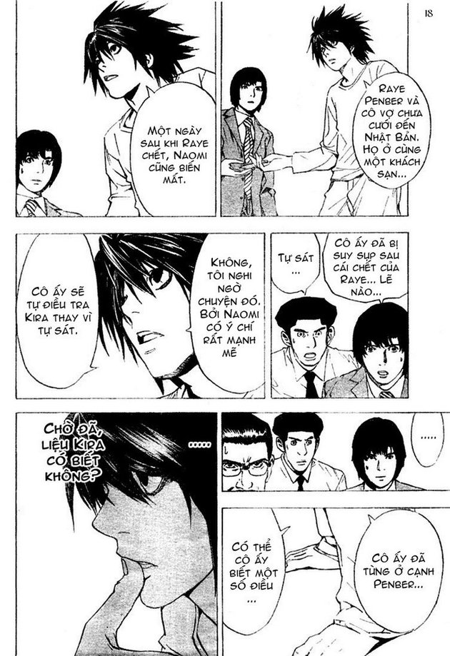 Death Note chapter 015 trang 18