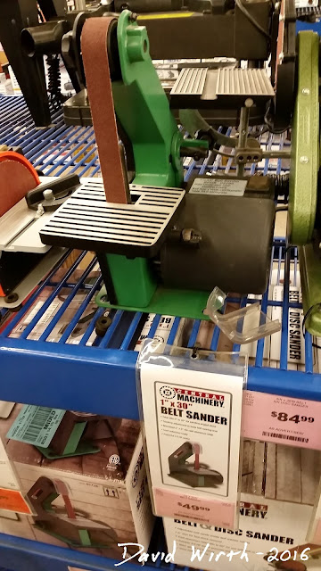 harbor freight strip sander, coupon, free, review, make, build, improve