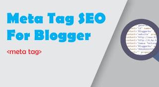 Meta Tags SEO Terbaik untuk Blogger - Deskripsi dan Kata Kunci Otomatis