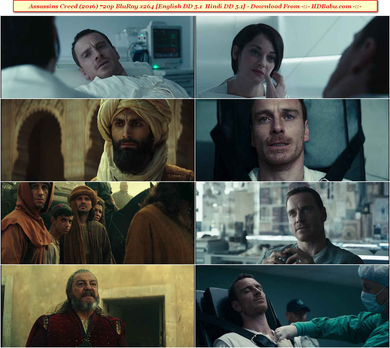 Assassins Creed Hindi Dual Audio Full Movie Download