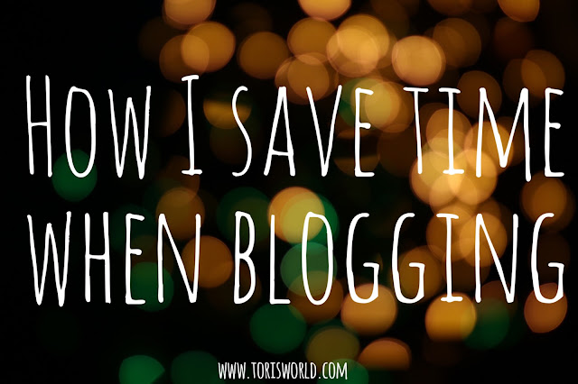 Saving time blogging tips