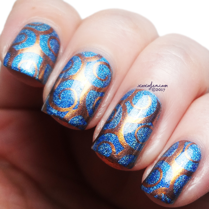 xoxoJen's swatch of KBShimmer Polish B
