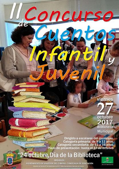 El Ayuntamiento de Valverde del Camino ha organizado este concurso como uno de los actos para conmemorar el Día de la Biblioteca